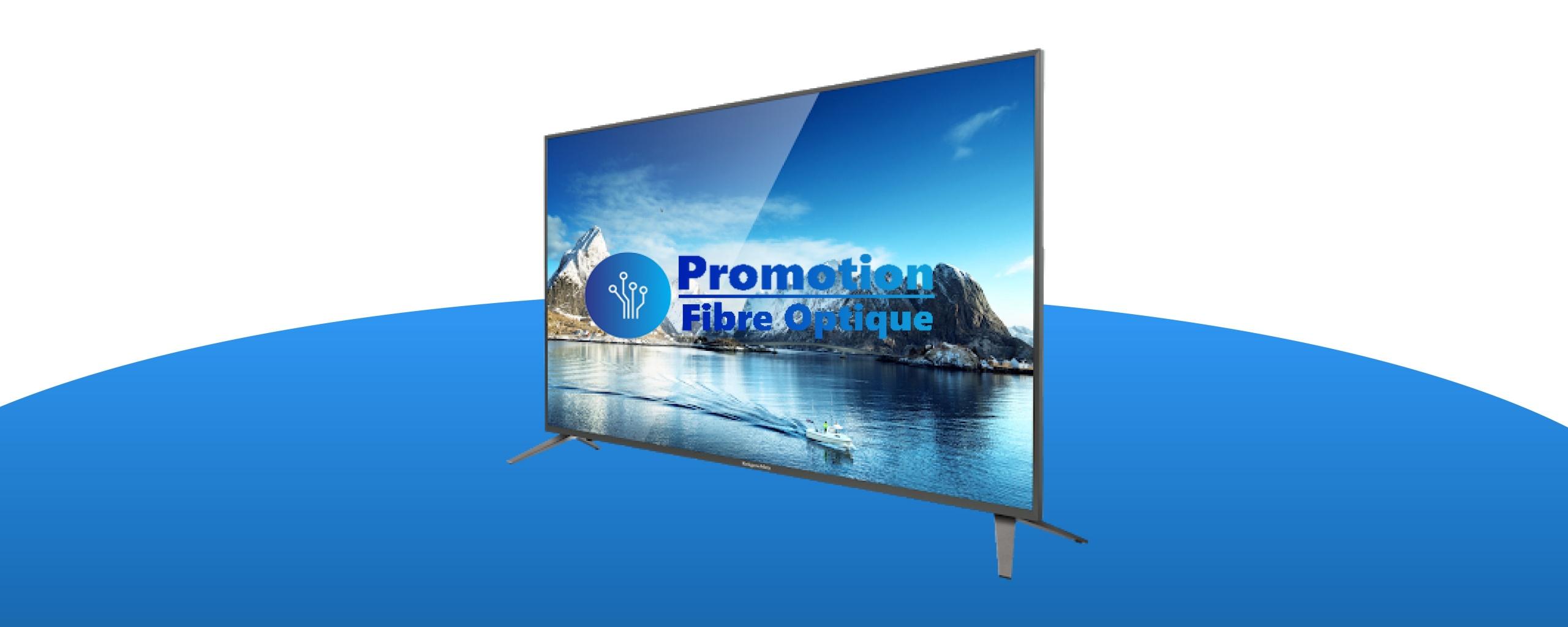 Promotion fibre optique, service fibre optique, forfait fibre optique,